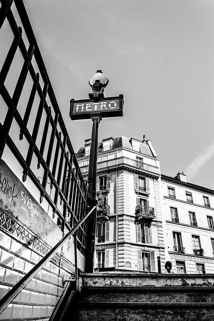 Que serait #Paris sans le #metro...    // 2015 // © F.Lombardo